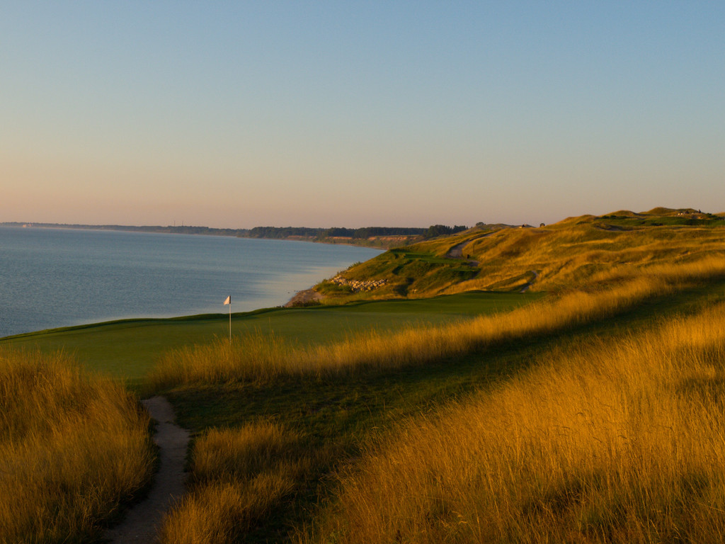 Just loved the golden glow of the tall grass at Whistling Straits.  I lose a few golf balls in there.