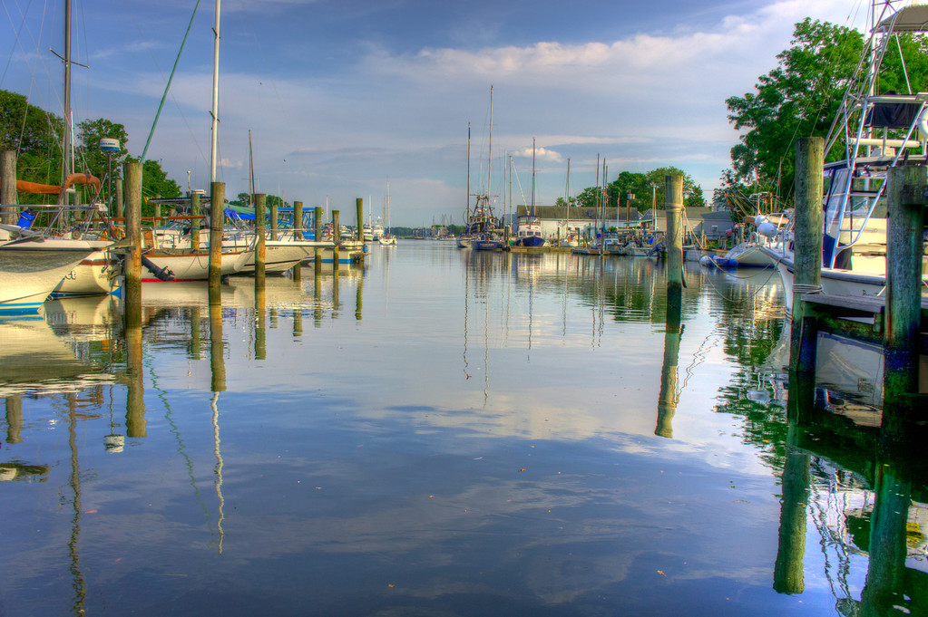 This is a wonderful little harbor in the North Fork on Long Island. Came across this on accident during an evening bicycle ride.