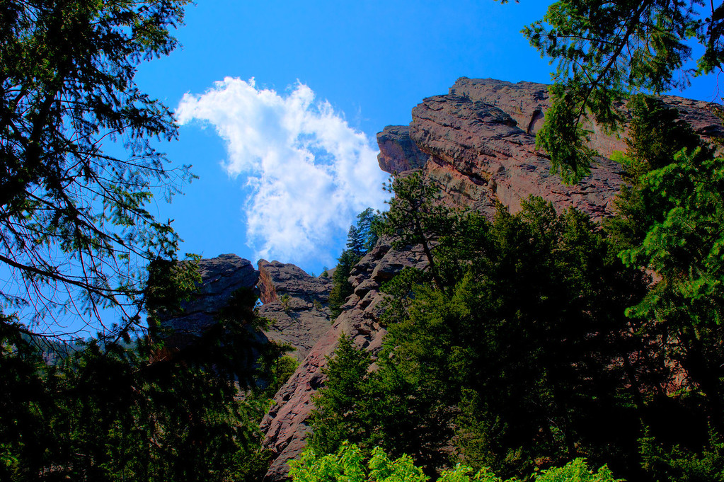 Went on a 6 hour hike in Boulder, Colorado.  Didn't take a lot of photos...was too tired on too long of a hike.
