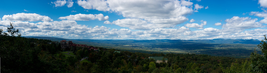 On a long hike in Mohonk in New Paltz, NY.