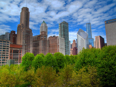 We love Chicago...took this on a beautiful day in May.