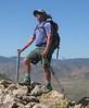 Tomcat on the summit of Chuckwalla