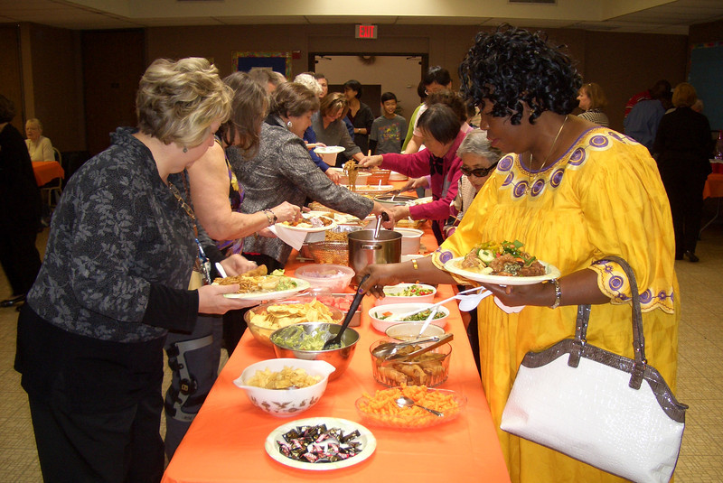 Potluck on All Saints Day