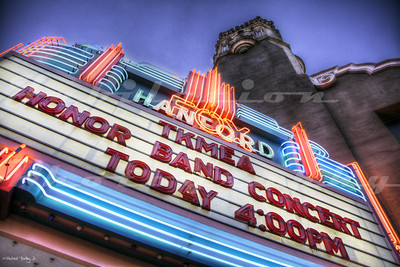 The Fox Hanford Theatre, Hanford, CA.  Opened in 1929.
