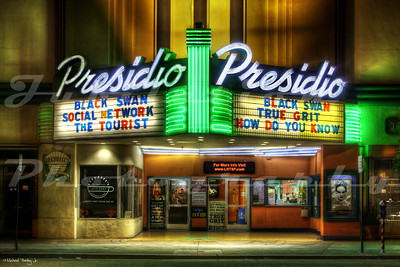 The Presidio Theatre, San Francisco, CA.  Opened in 1937.