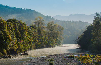 Early morning, Snoqualmie River