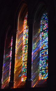 Stained Glass Windows, National Cathedral, Washington DC, March 2012