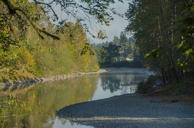 Early morning, Snoqualmie River, Fall City