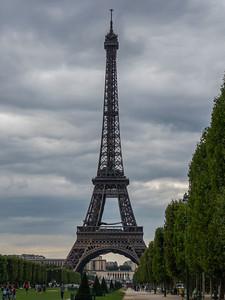 Eiffel Tower, Paris, France, August 2010