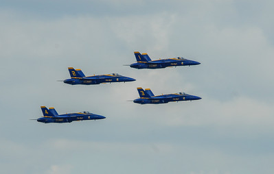 Blue Angels 1-4, Seafair Air Show, August 2011