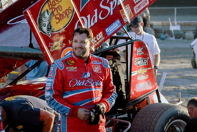 Tony Stewart, August 2007. This is one of my favorite pictures, it just captures the whimsical attitude of Tony Stewart.