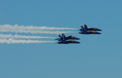 Smoke on! Blue Angels, Seafair Air Show, August 2011