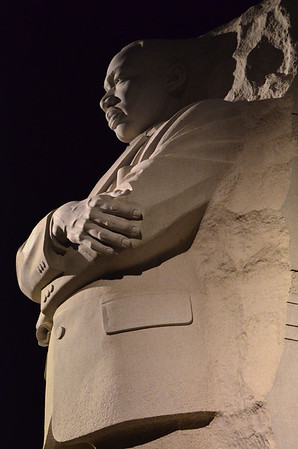Martin Luther King Memorial, Washington DC, March 2012
