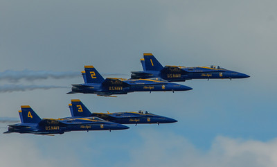 Blue Angels, Seafair Air Show, August 2011