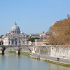 The Vatican from the Tiber River