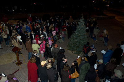 Allen Plaza Tree Lighting 2008