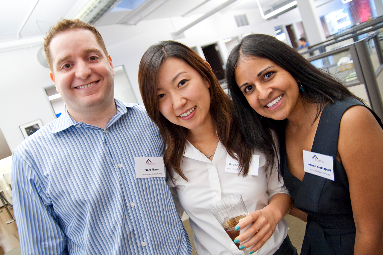 HOLLYWOOD, CALIFORNIA — Allied Integrated Marketing's open house celebration. Photo taken on Thursday, September 24, 2009 by Tom Sorensen/Moovieboy Pictures