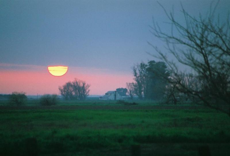 Sunrise in Santa Nella