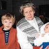 Mutti mit Tim und Jill, August 2005