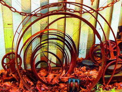 Circles - Barrel Straps