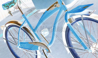 Brown Bike Blue'd Alt Image