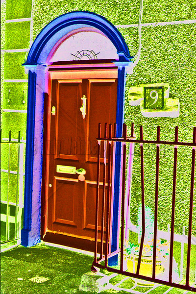 Pink Door - Altered