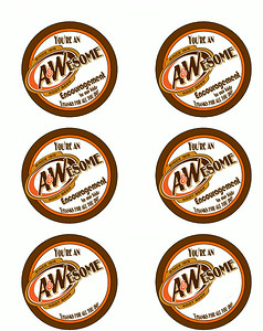 A&W Thank You - Avery 5164 Addr