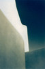 Cycladic Shapes. Emporio, Santorini.<br /> Cyanotype/gum bichromate.