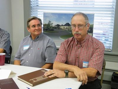 Rick Ryan, '68 and Glen Mason, '68