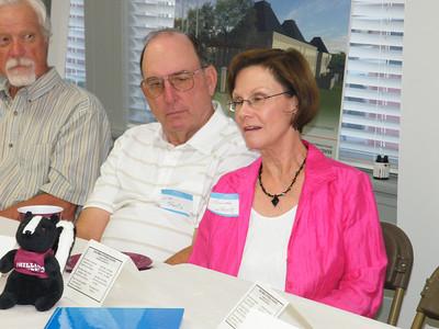 Roger Shiflet, '65, Jim Sheetz, '65 and LInda Sheetz, '69