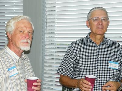 Roger Shiflet, '65 and Jim Anderson, '68