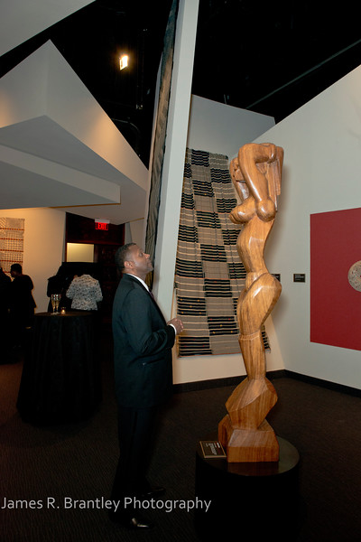The Alvin Ailey American Dance Theatre opening night at the John F. Kennedy Center for the Performing Arts in Washington, DC includes a small pre-performance reception followed by a post-performance dinner, dancing, and dessert in the Center's Atrium on Tuesday, February 4, 2014.  (James R. Brantley)