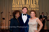 Co-Chairs Gina Adams, Lyndon Boozer, Debra Lee<br /> <br /> The Alvin Ailey American Dance Theatre opening night at the John F. Kennedy Center for the Performing Arts in Washington, DC includes a small pre-performance reception followed by a post-performance dinner, dancing, and dessert in the Center's Atrium on Tuesday, February 4, 2014.  (James R. Brantley)