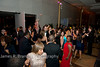Guests crowd the dance floor.<br /> <br /> The Alvin Ailey American Dance Theatre opening night at the John F. Kennedy Center for the Performing Arts in Washington, DC includes a small pre-performance reception followed by a post-performance dinner, dancing, and dessert in the Center's Atrium on Tuesday, February 4, 2014.  (James R. Brantley)