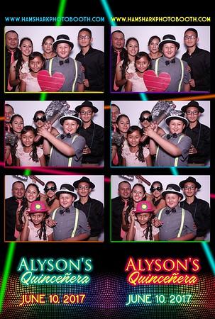 Alyson's Quincenera