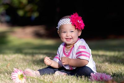 Alyssa 9 month photos