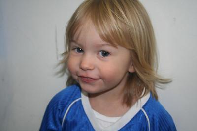 Alyssa Playing Soccer