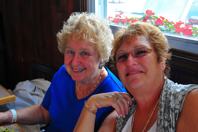 Donald's Mom and Sister Gayle