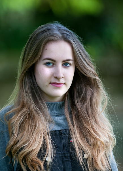 19 year old Charlotte Foley who now writes and plays songs as Charlote Rose, some of which relate to her experiences of demantia and being a carer. 5th July, 2016 - Picture Andy Brooks