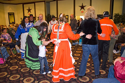 Amarillo Cultural Meeting – Stealing partners dance is enjoyed