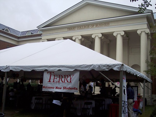 TCB Welcome tent