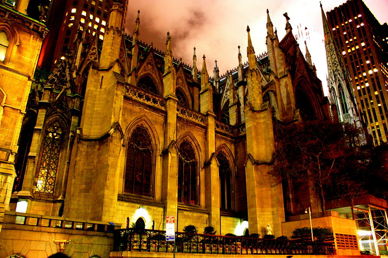 St Patricks Cathedral, New York City  -- click image for larger view