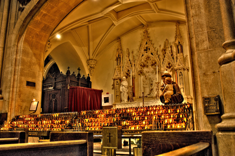 St Patrick's Cathedral  -- click image for larger view