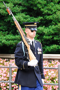 Discipline in Service at Arlington's Tomb of the Unknown