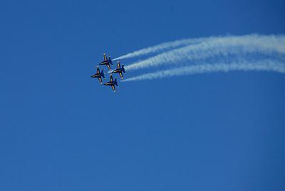 Blue Angels over San Francisco