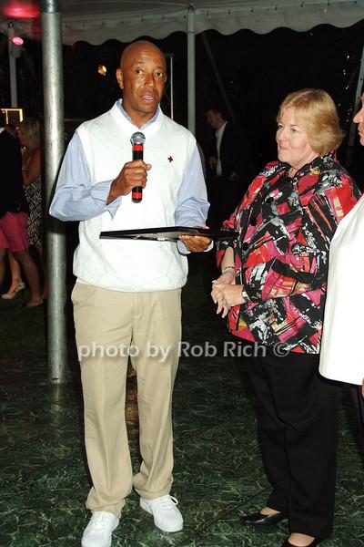 Russell Simmons, Diane Amarosa<br /> photo by Rob Rich © 2008 516-676-3939 robwayne1@aol.com