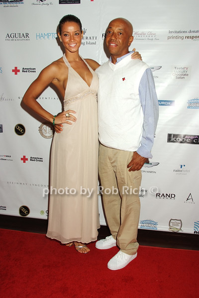 Porschla Coleman, Russell Simmons<br /> photo by Rob Rich © 2008 516-676-3939 robwayne1@aol.com