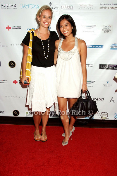 Rachelle Hruska, Stephanie Wei<br /> photo by Rob Rich © 2008 516-676-3939 robwayne1@aol.com