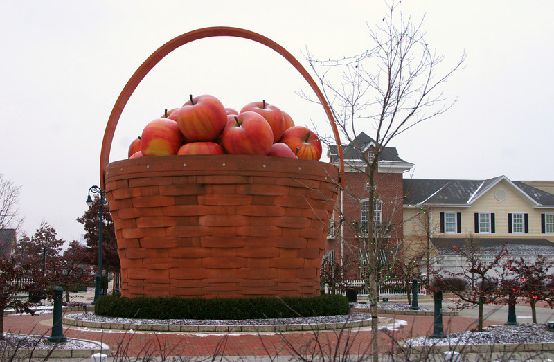 Longaberger Basket Sculpture