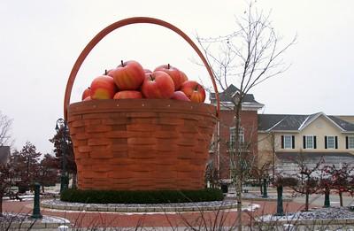 Longaberger Basket Sculpture Dresden, Ohio, USA